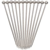 Stainless Steel Cocktail Picks - 4' (12pc Set)