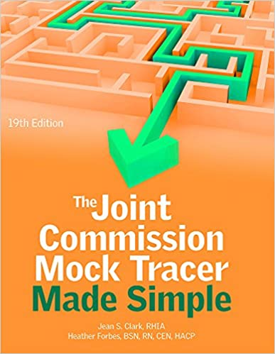 Book The Joint Commission Mock Tracer Made Simple, 19th Edition