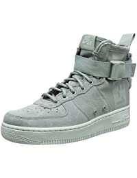 Womens SF Air Force 1 Mid Athletic & Sneakers Grey