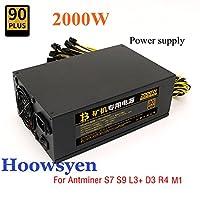 Antminer D3 2000W Server power supply mining rig psu for antminer S9 S7 L3+ D3 R4 E9 E9+ miner machine server mining bitmain