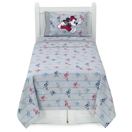 Disney Mickey Mouse Heavyweight Flannel Sheet Set