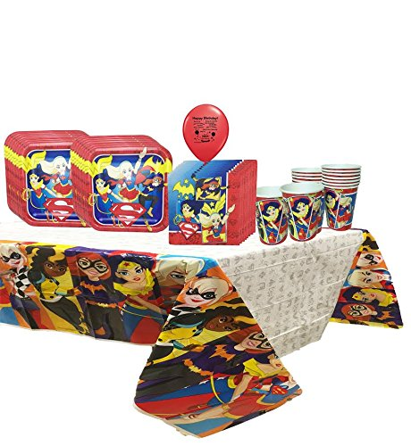 DC Super Hero Girls Party Pack For 16