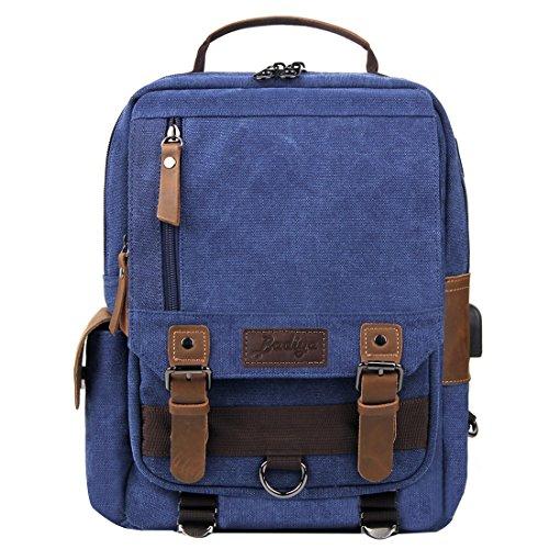De Mujer Badiya Para Mano azul Azul Bp06091bl Cartera 6Oq6g