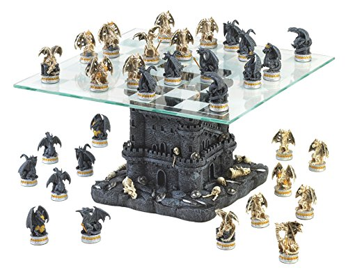 VERDUGO GIFT Ultimate Dragon Chess Set