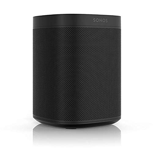 Sonos One, the powerful smart speaker with voice control built in (Black) by Sonos (Image #1)