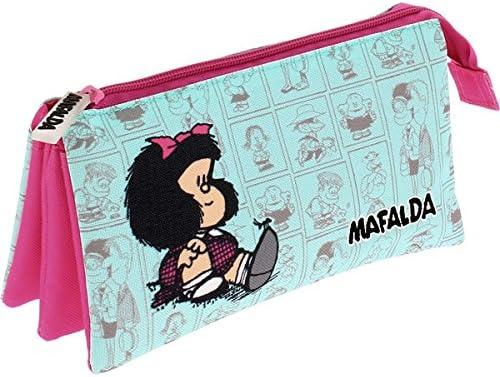 Grafoplas 37540606 Mafalda Estuches, 22 cm, Multicolor: Amazon.es: Oficina y papelería