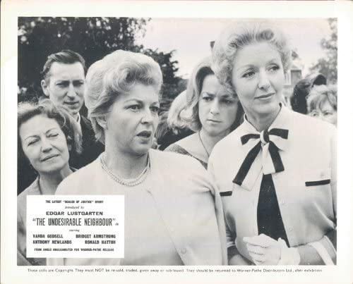 SCALES OF JUSTICE THE UNDESIRABLE NEIGHBOUR LOBBY CARD ORIGINAL GOSSIPING WOMEN