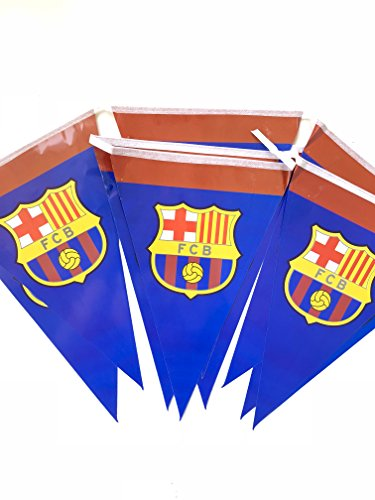 FC Barcelona Birthday Party Decoration Flags ()