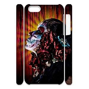 Winfors Artistic Skull Phone 3D Case For Iphone 5C [Pattern-2]