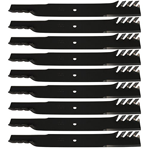 (9) USA Mower Blades Hi Lift for Exmark, Toro 103-2521, 103-2531, 72'' Deck by USA Mower Blades