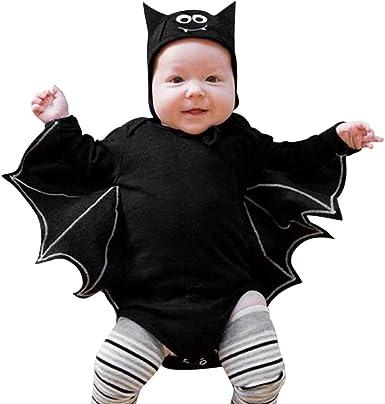 Disfraz Halloween Bebe niño, 3-24 Meses bebé Manga Larga Halloween ...