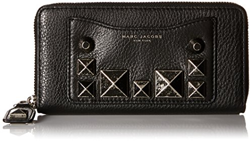 Marc Jacobs Recruit Chipped Studs Standard Continental Wa...