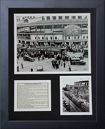 Legends Never Die Wrigley Field 1935 Framed Photo Collage, ()