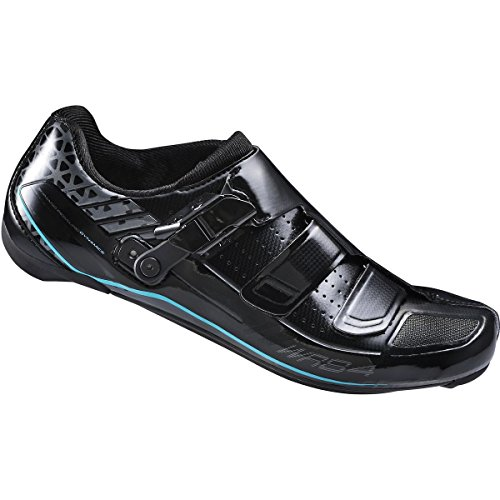 Shimano 2017 Women's Race Performance Road Cycling Shoe - SH-WR84L (Black - 39.5)