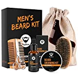 MayBeau Beard Kit for Men 8 in 1 Beard Grouth Grooming & Trimming