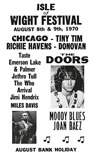 Isle of Wight Festival - The Doors - Miles Davis - Jimi Hendrix - The Who 13