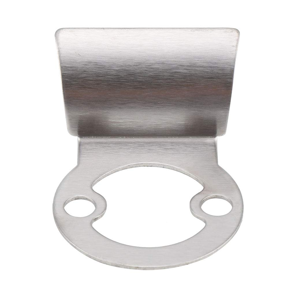 Silver Cover Toilet Door Indicator Bolt for Bathroom Public Toilet Toilet Door Indicator Lock