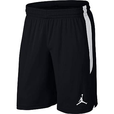 b44cbad27dea7 Nike Men's 23 ALPHA Dry Knit Short, Black(Black/White/White013), 2X ...