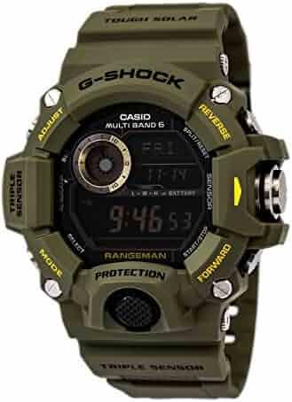 G-Shock Rangeman Master Of G Series Stylish Watch - Green / One Size