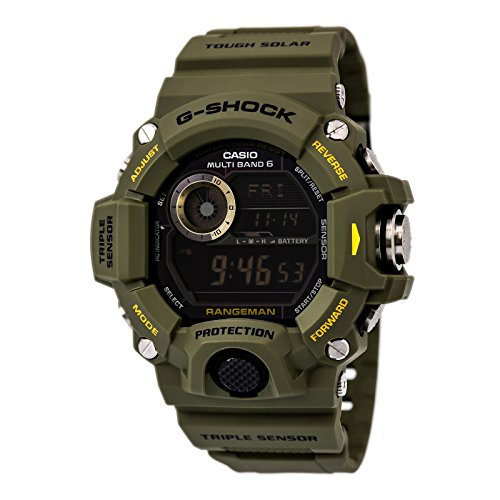Casio G-Shock Rangeman Master Of G Series Stylish Watch - Green/One Siz