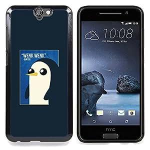 """For HTC One A9 Case , Pingüino lindo de la acuarela de los rosas bebés"""" - Diseño Patrón Teléfono Caso Cubierta Case Bumper Duro Protección Case Cover Funda"""