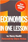Economics in One Lesson, Henry Hazlitt, 0930073193