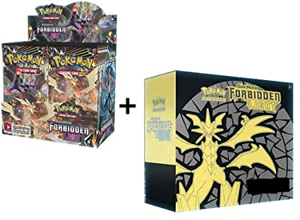 Amazon.com: Pokemon Sun & Moon Forbidden luz Booster caja + ...