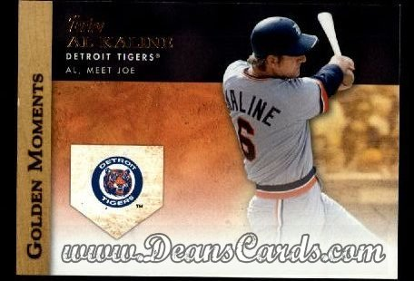2012 Topps Golden Moments Series 1# 42 GM Al Meet Joe Al Kaline Detroit Tigers (Baseball Card) Dean's Cards 8 - NM/MT Tigers