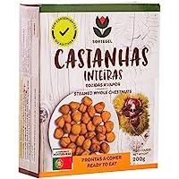 Castañas Cocidas de Trás-os-Montes - Portugal 200g