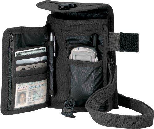 Rothco Canvas Travel Portfolio Bag – Black, Bags Central