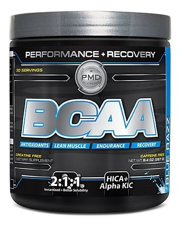 NDS Nutrition - PMD Platinum BCAA Performance + Recovery Caffeine Free Blue Razz - 9.4 oz.