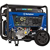 Westinghouse WGen7500DF Dual Fuel Portable Generator - 7500 Rated...