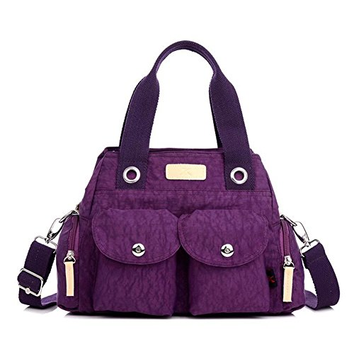 [HIFISH HB110012C4 Nylon Korean Version Handbag,Square Cross-Section Diana Package] (Dallas Wholesaler Costumes Jewelry)