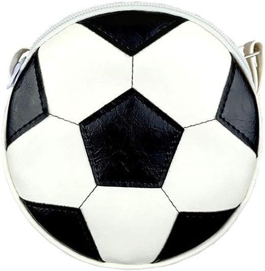 Monedero unisex con forma de balón de fútbol para niños, bolso ...