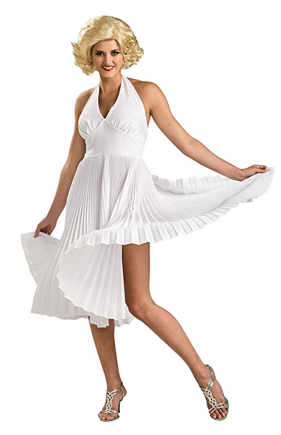 Vintage Inspired Halloween Costumes Deluxe Marilyn Monroe Costume - Small - Dress Size $137.75 AT vintagedancer.com