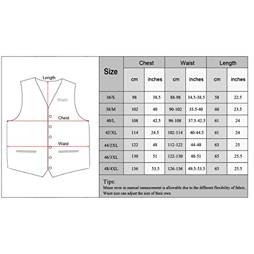 6 Slim Dress YFFUSHI Fit Pink s Design Men Vest Jacquard Waistcoat Button Hot Skinny 88pgIZq