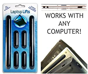 Protect Your Laptop - Noscratching, Slipping Or Spills. Replace Your Feet: Airfl