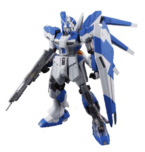 Gundam RX-93-2 Hi-Nu Gundam with Extra Clear Body parts MG 1 100 Scale [Toy] (japan import)