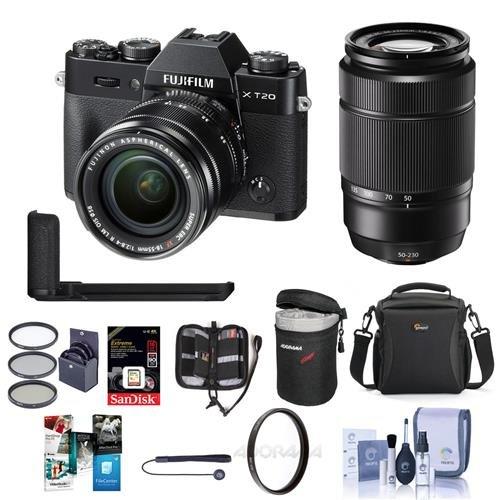 Fujifilm X-T20 24.3MP Mirrorless Camera with XC 16-50mm f/3.