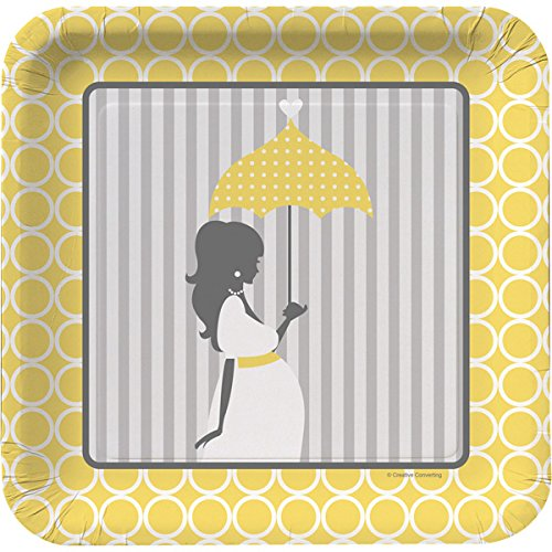Shower Plates Luncheon (Mod Baby Shower Luncheon Plate 7