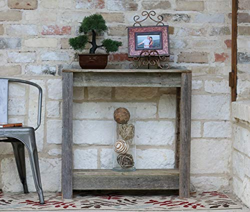 Natural Entry Console Table