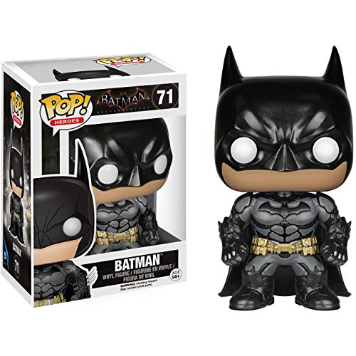 Batman: Batman - Arkham Knight x Funko POP! Heroes Vinyl Figure & 1 POP! Compatible PET Plastic Graphical Protector Bundle [#071 / 06383 - -