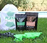 Playa Fit Teas - 1 Month Detox Treatment - South American Herbal Cleanse Infusion Combo - All Natural Weight Loss for Day and Night (Daily Tea Bags)