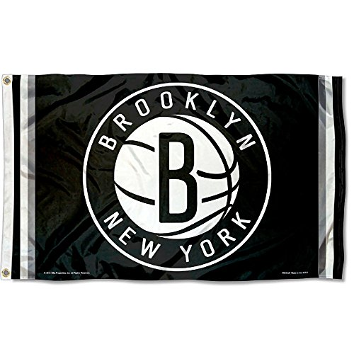 WinCraft NBA New Jersey Nets Flag 3x5 Banner by WinCraft