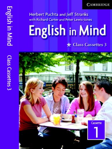 English in Mind 3 Class Audio Cassettes Egyptian Edition: Volume 0, Part 0 PDF