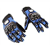 Blue Motorcycle Accessories Pro-Bike Parts Motocross Racing Protection Sports Adjustable Gloves Size XXL Fit For Honda X-11 1999-2002