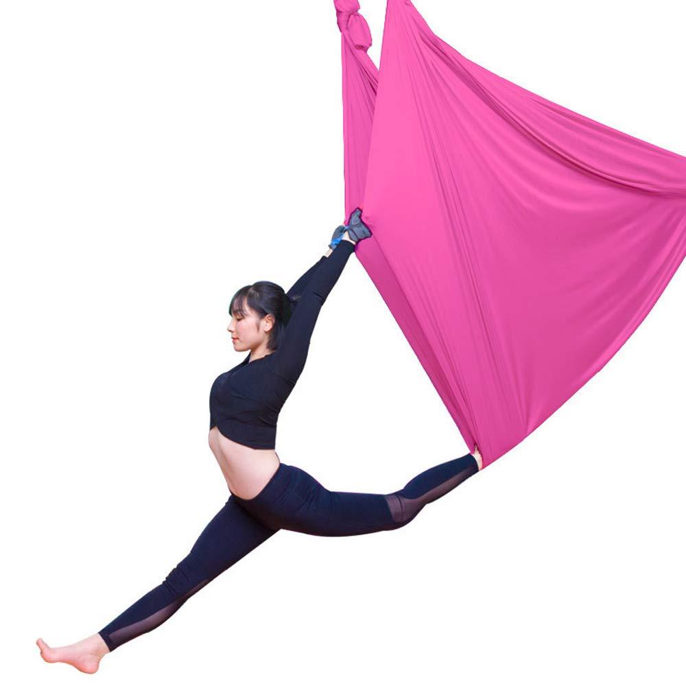 Good Elastic 2.8m Aerial Yoga Hammock Anti-gravity Yoga Belts Yoga Sporting Aerial Traction Yoga Gym Strap Sports & Entertainment Yoga Belts