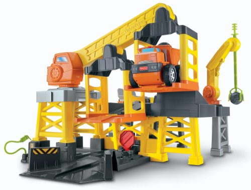 Remote Control Construction Toys : Fisher price big action construction site with remote