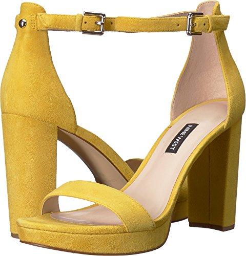 Gamuza Color Amarillo Vestido De Cuero Dempsey Sandalia De Nueve De Las Mujeres Del Oeste Fechas de lanzamiento baratas Venta de tienda en línea Fechas de lanzamiento en línea Venta Footlocker Imágenes a4Pp3q