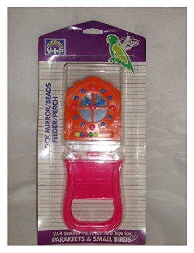 Mirror Feeder Perch Toy - 2